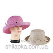 Шляпа летняя с поднятыми по кругу полями 36/20-2 фото