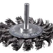 Набор Stayer Щетки кистевые для дрели, витая латунированная стальная проволока 0,3мм, 30мм, 2 шт Код:35225-30-H2 фото