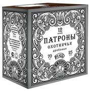 Патрон дробовой Б/К «Русь» 3 (12/70) 33гр. фото
