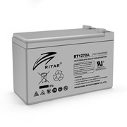 Аккумуляторная батарея AGM RITAR RT1270A, Gray Case, 12V 7.0Ah ( 151 х 65 х 94 (100) ) Q10 фото