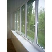 Отделка балконов, лоджий, холодных вставок и прочее. фото