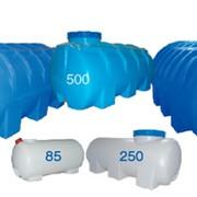 Емкости для воды пластиковые горизонтальные. Емкости для питьевой воды фото