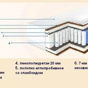 Матрас ортопедический «Барро» Элит Престиж 525 7-ми зонный фото