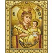 Картина стразами Чудотворная Вифлеемская Икона Пресвятой Богородицы - 40х50см фото