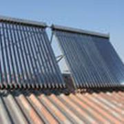 Коллекторы солнечные тепловые фото