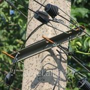 Подвес кабеля связи фото