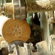 Производство и продажа бревна оцилиндрованного фото