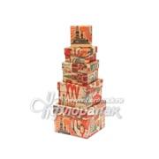 Коробка картонная цветная ККЦ №5 (5шт) мал.квадр.(12/12/9см-6/6/3см) фото