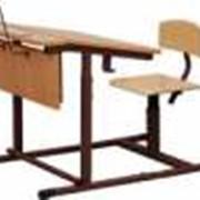 Комплект школьной мебели фото