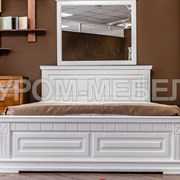 Кровать Флоренция (белая эмаль) фото