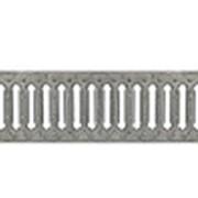 Решетка водоприемная штампованная стальная оцинкованная фото