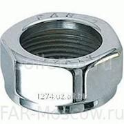 Гайка для терморегулирующих вентилей LadyFAR, серебро, артикул FL 0395 фото