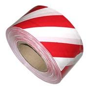 Лента оградительная красно-белая фото