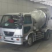 Автобетоносмеситель Nissan Condor кузов PK36A г 2006 миксер грузоподъемность 6,92 тн пробег 286 т.км фото