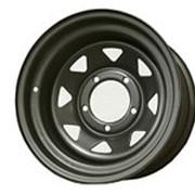 ORW ORW диск УАЗ стальной матовый черный 5x139,7 8xR15 d110 ET-25 фото