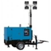 Осветительные мачты с дизельными электростанциями для продолжительной работы фото