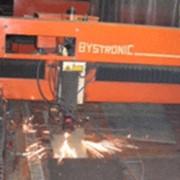 """Лазерной резка на швейцарском оборудовании фирмы """"BYSTRONIK"""" - высокоточное изготовление раскроя листового проката и фигурной резки трубы для стандартного оборудования, лазерная маркировка и гравировка, нанесение текстовой и графической информации фото"""