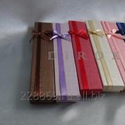 Подарочная упаковка для брошей, кулонов, комплектов, сережек, колец фото