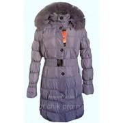 Пальто зимнее елочка 8107 фото