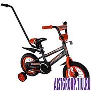 """Детский велосипед Crosser Sports 12"""" c родительской ручкой фото"""