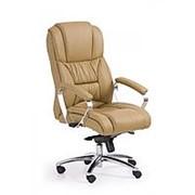 Кресло компьютерное Halmar FOSTER (светло-коричневый) фото