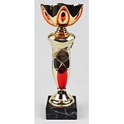 Кубок чаша арт. 203-260-100, (красный лепесток) средняя фото