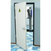 Рентегнозащитные двери ДЗР-РС-3, (1400х2080мм) фото
