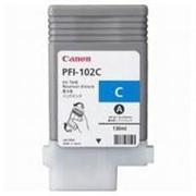 Картридж Canon PFI-102C (cyan) iPF500/600/700 (0896B001) фото