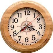 Часы настенные деревянные фото