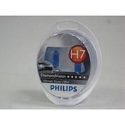 Автолампа H7 (55) PX26d DIAMOND VISION 5000K (2шт) 12v Philips фото