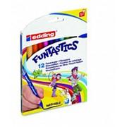 Набор фломастеров Edding 15 Funtastics 12 цветов в наборе, картонная коробка фото
