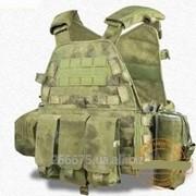 Тактический жилет с допонительными карманами MOLLE фото