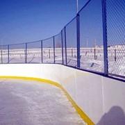Корт хоккейный Влагостойкая фанера фото