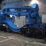 Оборудование доменное и сталеплавильное платформа металлургическая ПМ-250 для изложниц. платформа для перевозки скрапа в совках емкостью 100 м3 , машины напольно-завалочные г/п 15 тн, шар-бабы фото