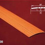 Порог одноуровневый с открытым креплением арт АПС 012 длина 1350 мм фото