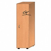 Одностворчатый гардеробный шкаф ШО.014 фото