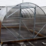 Теплица Киновская Премиум Плюс, длина 10000 мм, поликарбонат 4 мм, 15 лет заводской гарантии фото