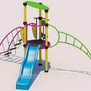 Комплексное детское сооружение модель: КМ02 фото
