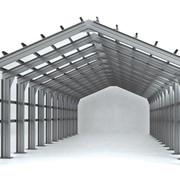 Проектирование ангаров из легких металлоконструкций. Строительство быстровозводимых зданий из металлоконструкций, с использованием термопрофилей и ЛСТК. фото