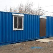 Прорабская бытовка контейнер в Астане столовые утепленные жилые фото