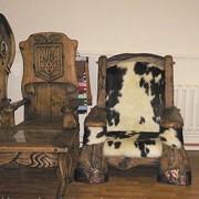 Мебель под старину деревянная, мебель состаренное дерево, мебель с эффектом старения фото