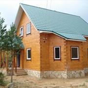 Проектирование домов из бруса фото