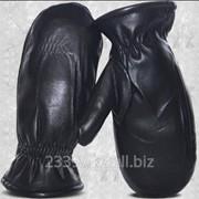 Производство кожаных галантерейных изделий: рукавицы фото