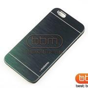 Накладка iPhone 6 MOTOMO (металл) серый 74560c фото