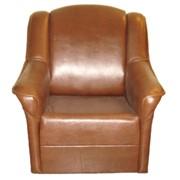Кресло кожаное фото
