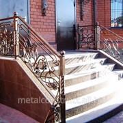 Перила уличные для лестниц №65 фото