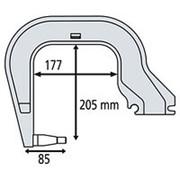 Плечо для C-клещей (тип C3) фото