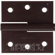 Петля дверная Stayer Master разъемная, цвет коричневый, левая, 65мм Код: 37613-65-3L фото
