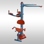 Тренажер для укрепления мышц тела. Тройной ( различные группы мышц) фото