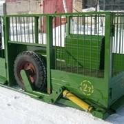 Трап тележка для перевозки скота ТТ-1,5 фото